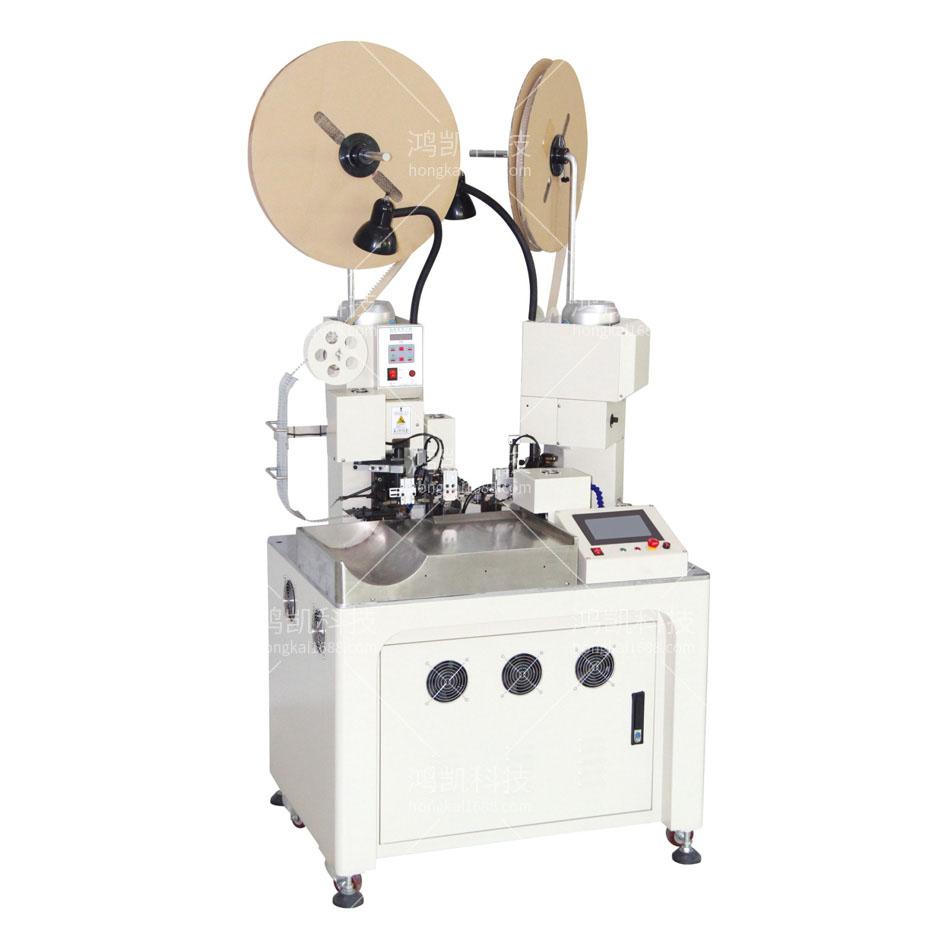 YHK-03H全自动双线并打端子机